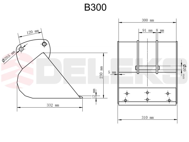 cuchara-para-miniexcavadora-b-300