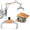 pinzas forestales oleodinámicas para leña rotores hidráulicos y equipos para la manipulación de la leña