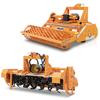 rotovatores para tractor fresadoras agrícolas enterradoras con rodillo y removedores para camas avícolas